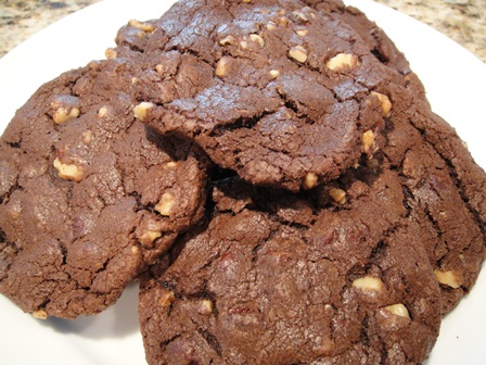 Triple Chocolate Chunk Cookies- Cooks and EatsCooks and Eats
