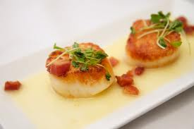 Seared Sea Scallops with Lemon Cream Sauce