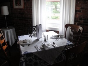 Upstairs Dining Area
