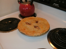 Pear Pie with Gruyere Cheese Crust