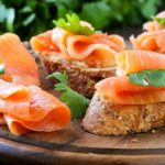 Gravlax with Absolut Citron